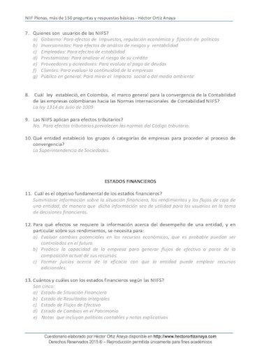 Niif Plenas Mas De 150 Preguntas Y Respuestas Niif Plenas Mas De 150 Preguntas Y Respuestas Pdf Document