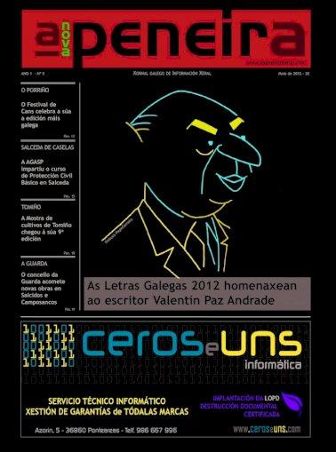 A Nova Peneira Nº5 Maio 2012 Pdf Document