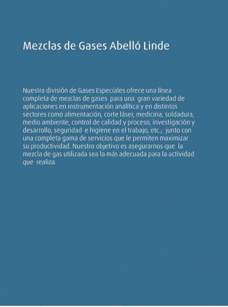 Mezclas Gaseosas